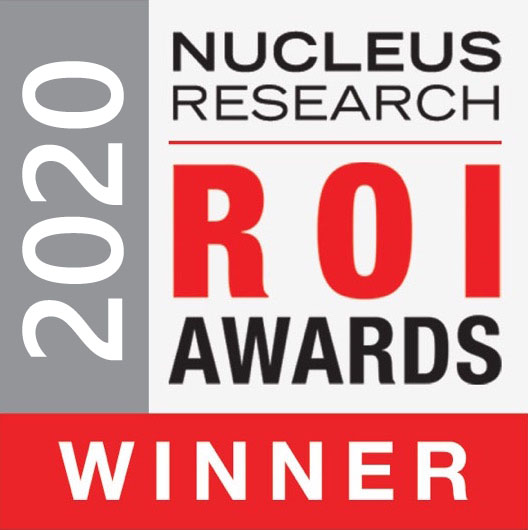 2020 ROI Awards Nucleus Research