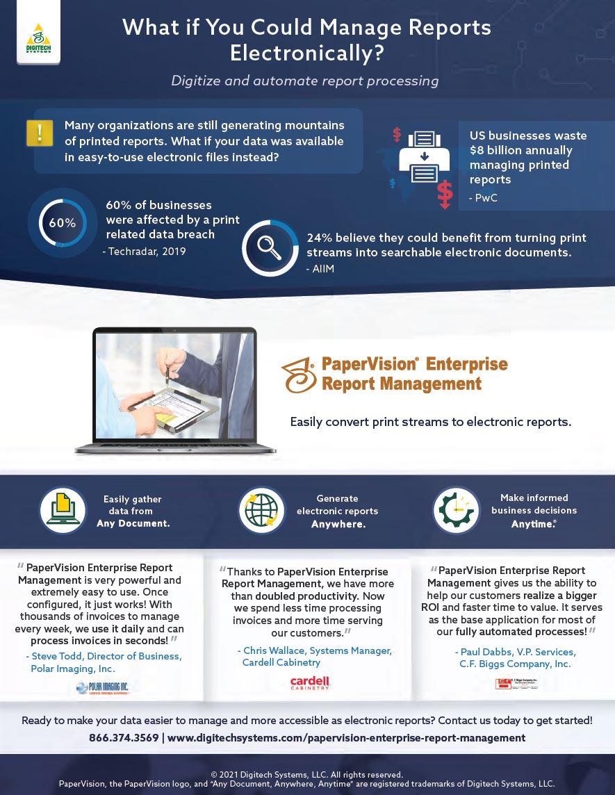 PaperVision Enterprise Report Management