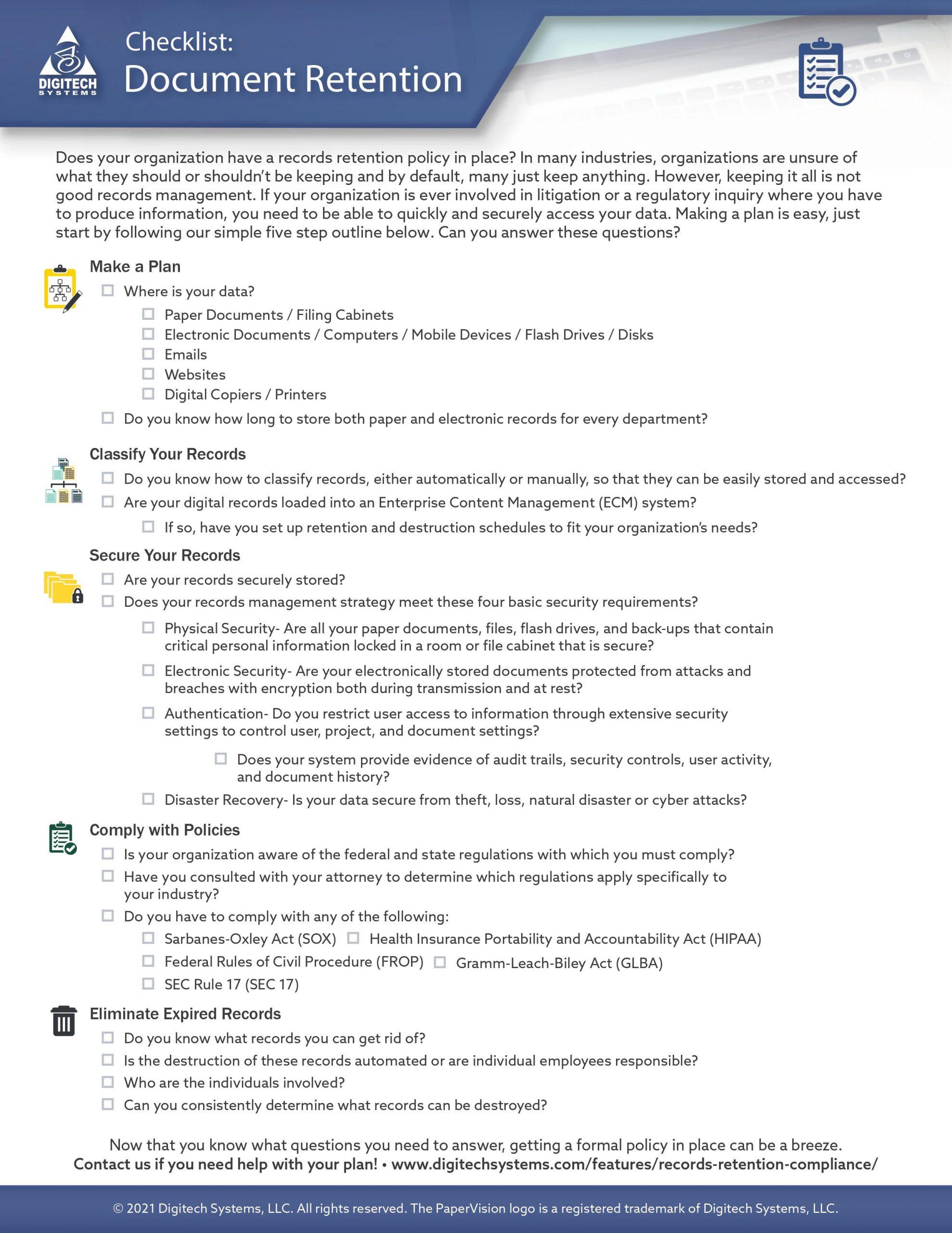 Document Retention Checklist-preview